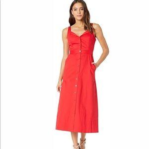 Equipment red dress